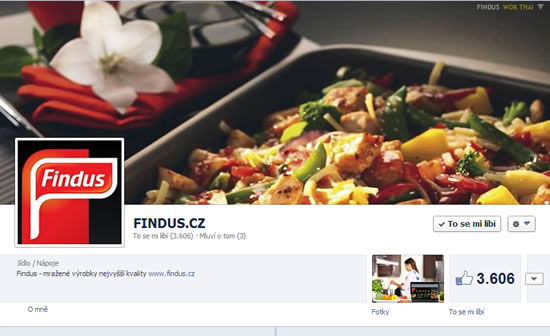 FINDUS na Facebooku